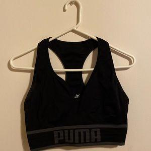 PUMA longline sports bra workout top